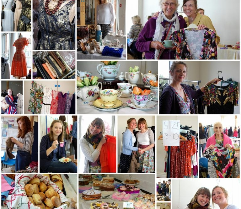 Ladies of Leigh Clothes Swap Montage